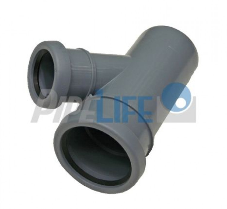 Indoor Sewer systems, PP tee 110X50/45'