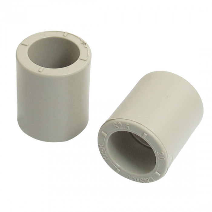 PPR coupling sleeve 20mm FF