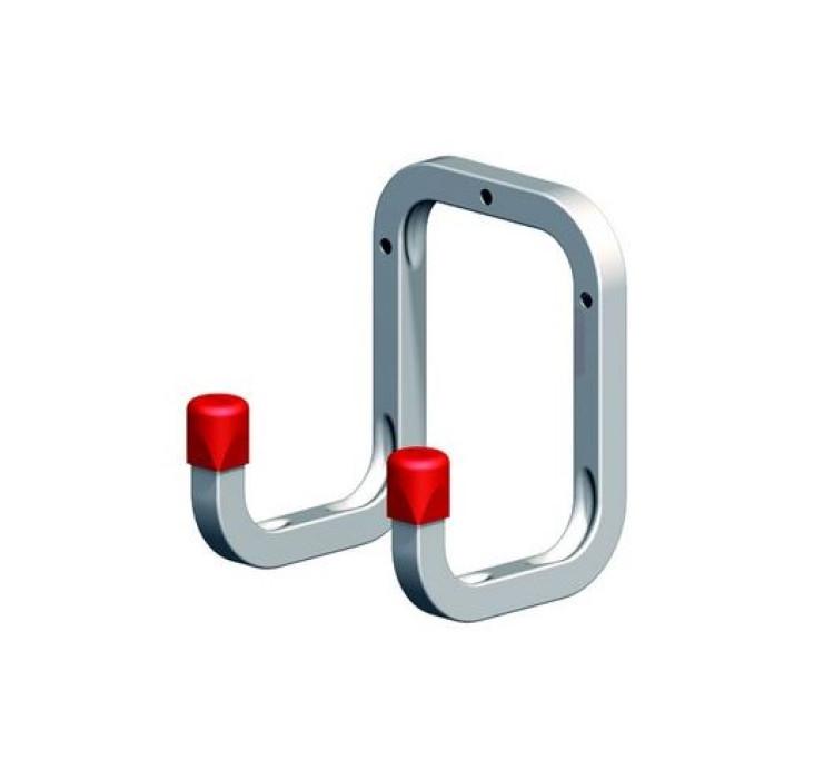 Wall hook 175x120x98 max.80kg Steel/galvanized