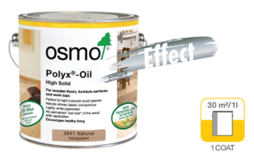 POLYX®-OIL EFFECT Hartwachs-Öl Natural Transparent (3041) 0,75 L