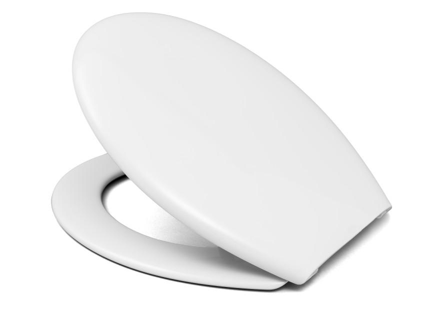 RIO BEACH toilet seat, thermoplast, white,1.0kg