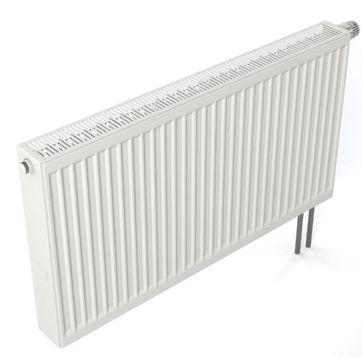 Tērauda radiators 22 500x600mm, sānu pieslēgums, Kermi