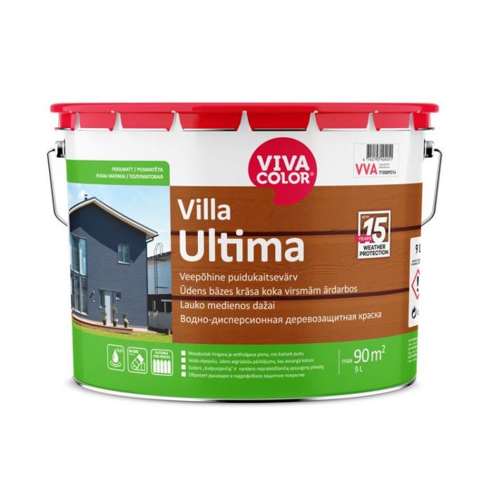 Vivacolor VILLA ULTIMA VC 9l Waterborne wood protection paint