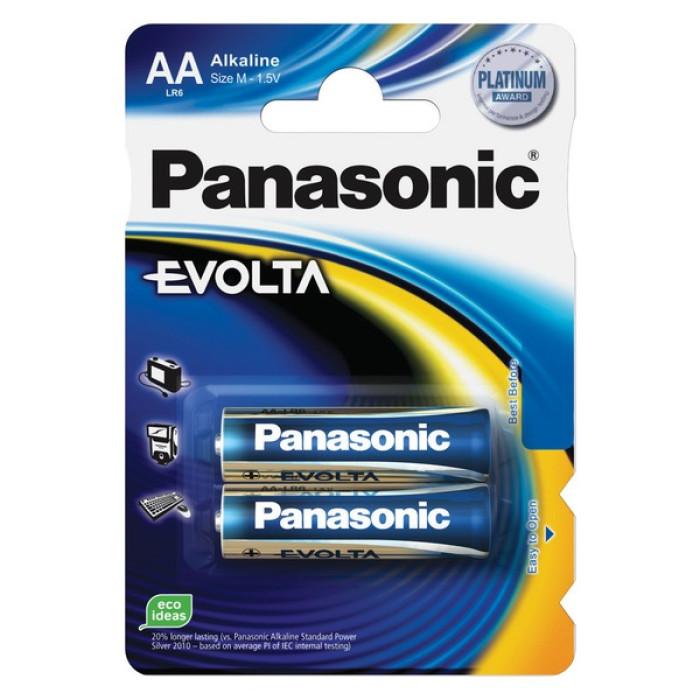 BATTERY PANASONIC EVOLTA AA 2PCS./PACK