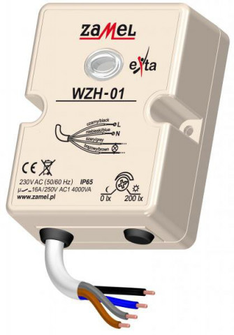 KRĒSLAS SLĒDZIS  ZAMEL WZH-01 IP65
