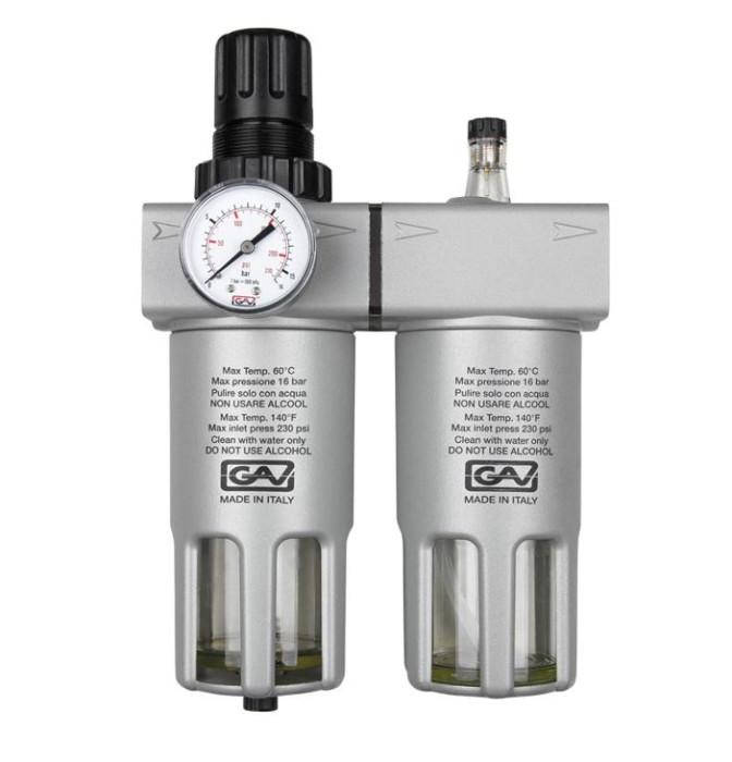 Filter-reducer-lubricator FRL - 200 (1/2)