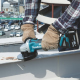 Angle grinder Makita DGA506Z; 18 V (without battery and charger)