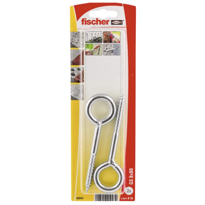 Fischer Петля GS 8х80 для строительных лесов 2шт 61-90943B