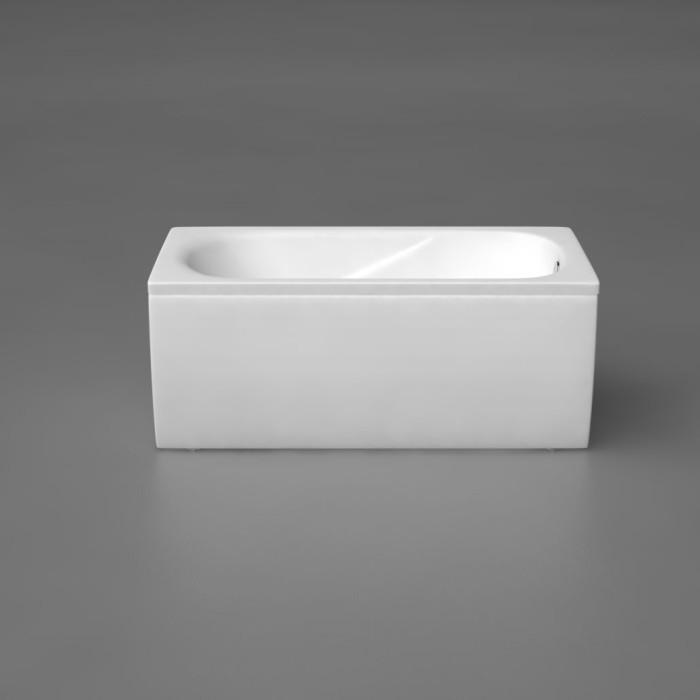 bathtub panel Vispool  CLASSICA 150cm U veida white