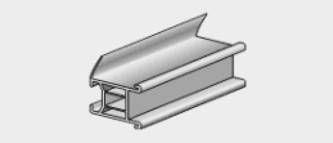 Stūris arku izveidošanai PVC   3.0m