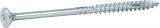 Skrūve kokam ESSDRIVE 6.0X100mm Zn 100gab/iep., ESSVE 136144