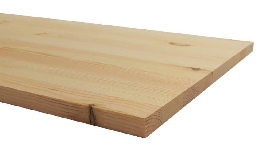 Līmēta masīvā koka plāksne  800x400x18mm Priede Opus