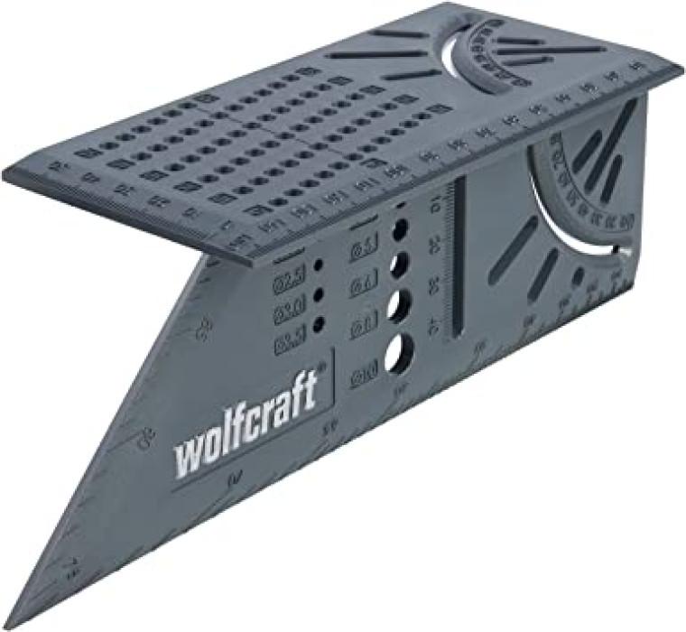 Stūrenis, šablons precīzai atzīmēšanai,  WOLFCRAFT 5208000