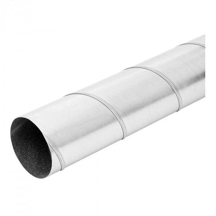 threadedairductmetal,Ø125mm-3m