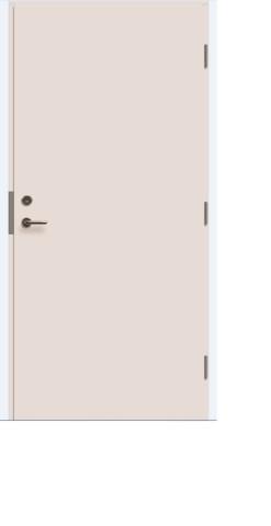 Durvis EI30/39db baltas 10x21  KR