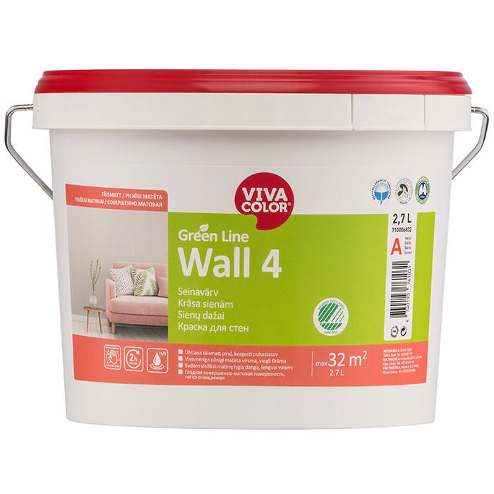 VIVACOLOR GL Wall 4 A 2.7L Full matt wall paint