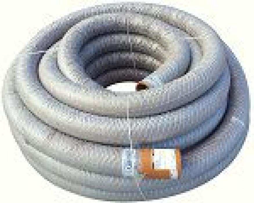 ПВХ труба дренажная 128/113 с фильтром геотекстилии (10m)