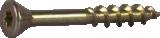 Skrūve OSB Hobau 4.2x35mm Zn dzeltena,TX15 1000gab/iep., ESSVE 552435