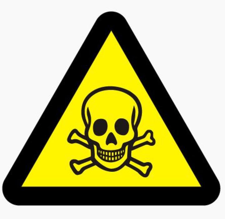 Sticker ''Toxic substance'' H-12