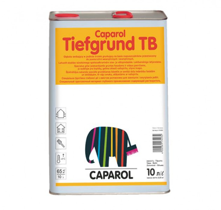 Special primer Caparol TIEFGRUND TB 10l