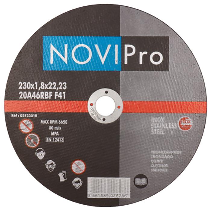 Griezējdisks Inox 230X1.8 PL Novipro