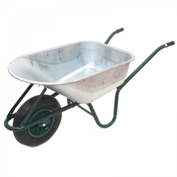 WHEELBARROW 120L PROF PN W ZN (1033)