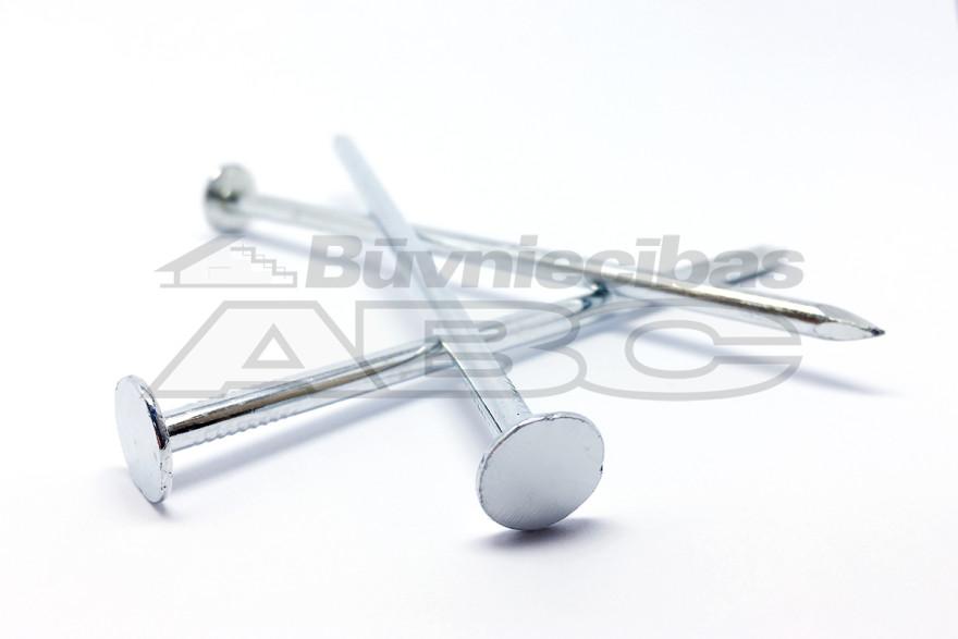 Slating nails, zinc plated 4.0x 100mm 1.0kg/iep.