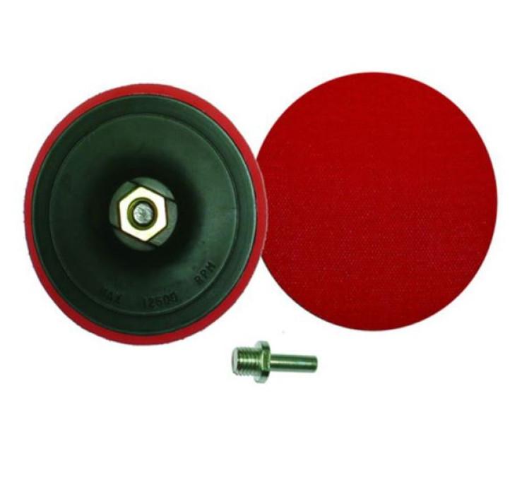 Smilšpapīru disku turētājs 150mm + adapteris (INPLUS SIA)