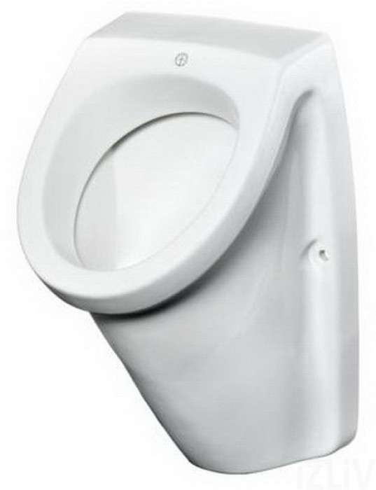 Urinal - 7G51 with concealed plumbing connection.