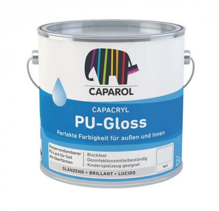 Acrylic enamel Capacryl PU-Gloss 2.4l Basis W