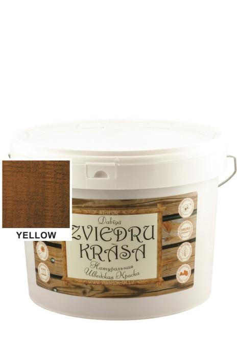 Stafor Natural SWEDISH Paint 10L yellow