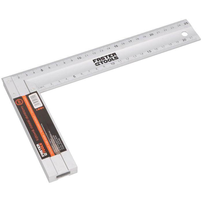 FASTER TOOLS Aluminum angle ruler 350mm