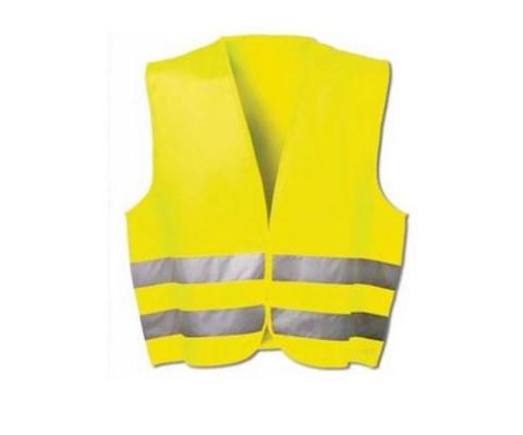 Atstarojoša veste  dzeltena Izm.XL