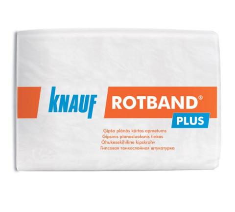 Knauf ROTBAND Plus 10kg  ģipša plānās kārtas apmetums