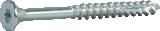 Skrūve kokam ESSDRIVE 4.5x40mm Zn 200gab/iep., ESSVE 136120