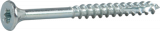 Skrūve kokam ESSDRIVE 4.0X60mm Zn 100gab/iep., ESSVE 136118