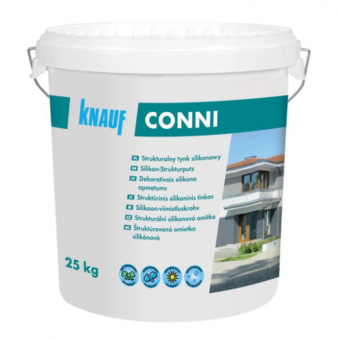 Knauf CONNI S 2.0mm 25kg silicone decorative plaster