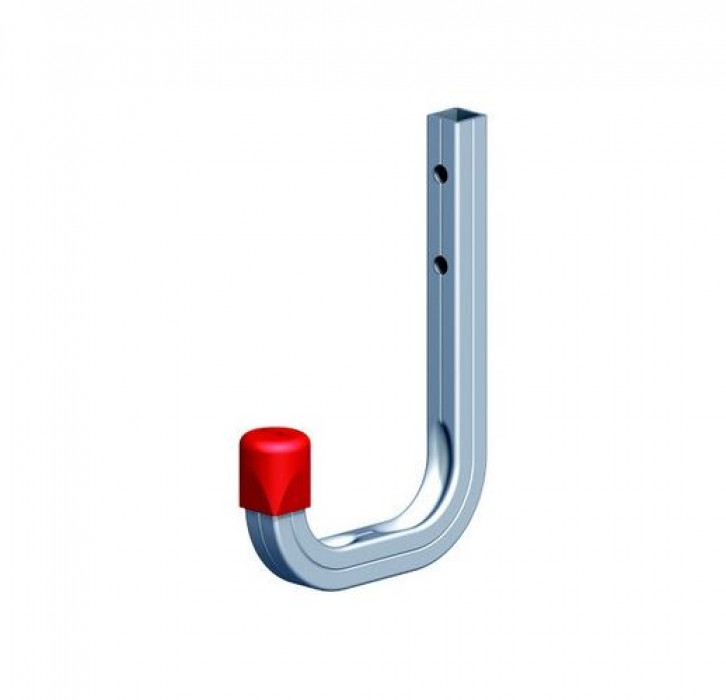 Wall hook 80x120 max.50kg Aluminum/silver
